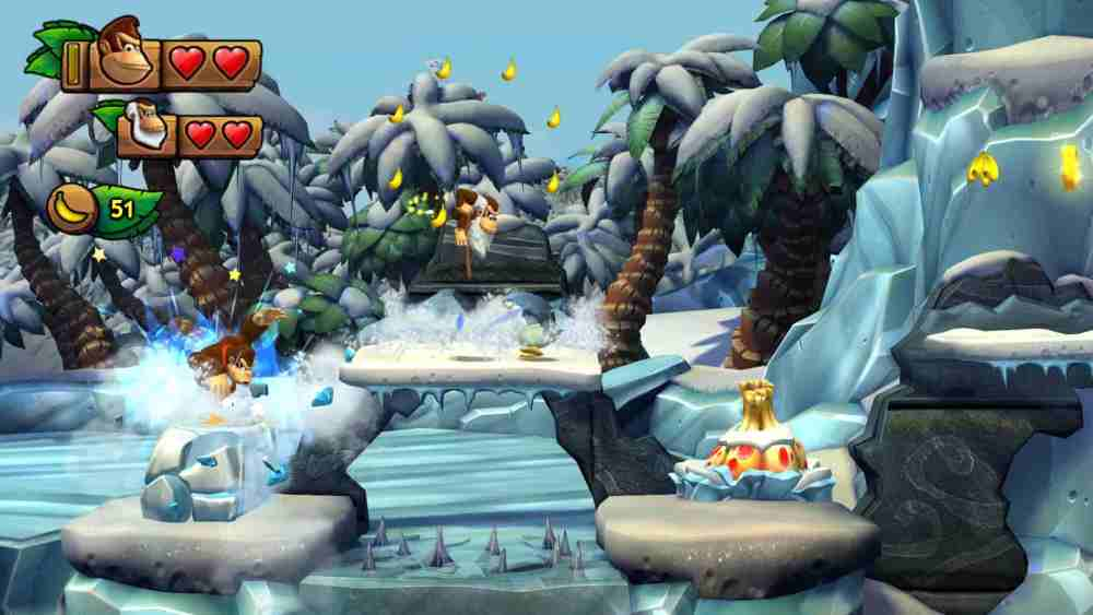 Donkey Kong Country: Tropical Freeze Review Screenshot 1