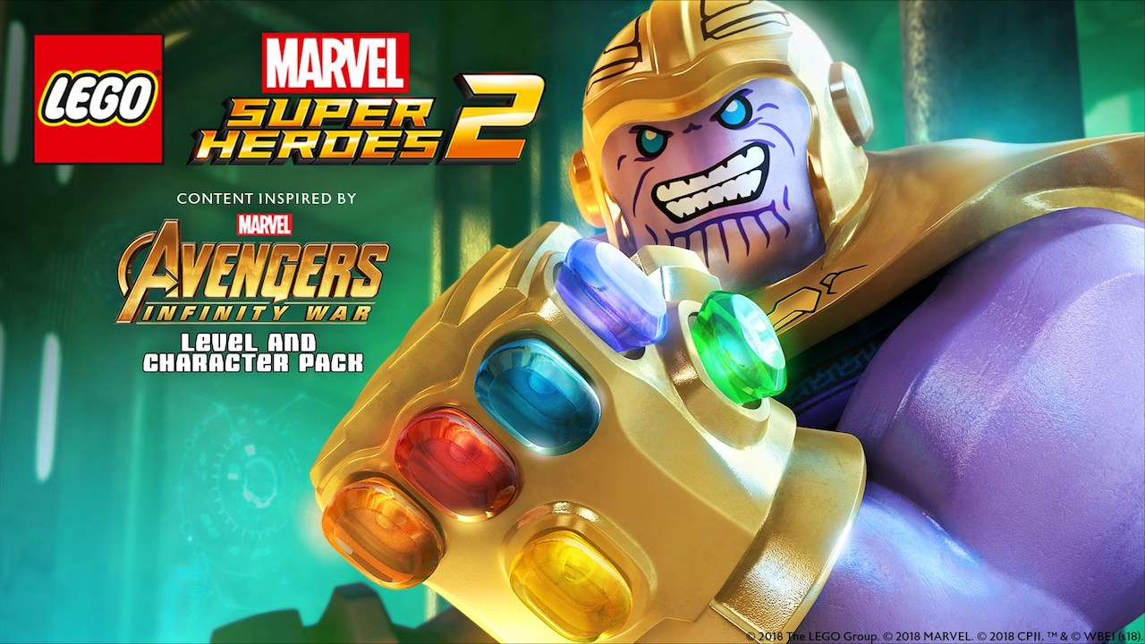 Control Thanos In The Lego Marvel Super Heroes 2 Avengers Infinity War Character And Level Pack Nintendo Insider