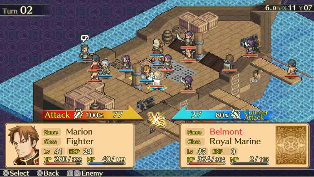 Mercenaries Saga Chronicles Review Screenshot 1