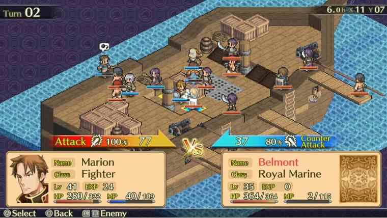 Mercenaries Saga Chronicles Review Screenshot 1