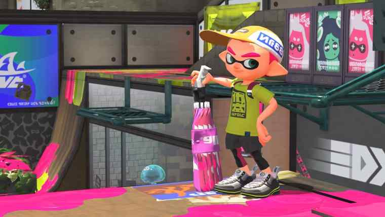 Splatoon 2 Sorella Brella Screenshot 2
