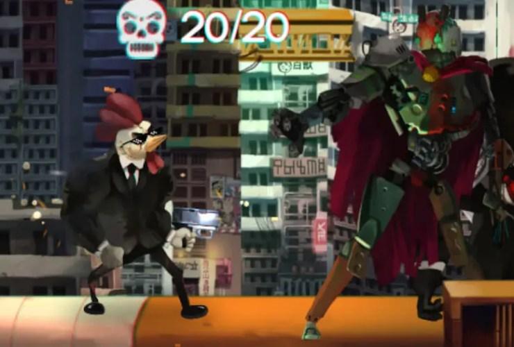 Chicken Assassin: Reloaded Screenshot