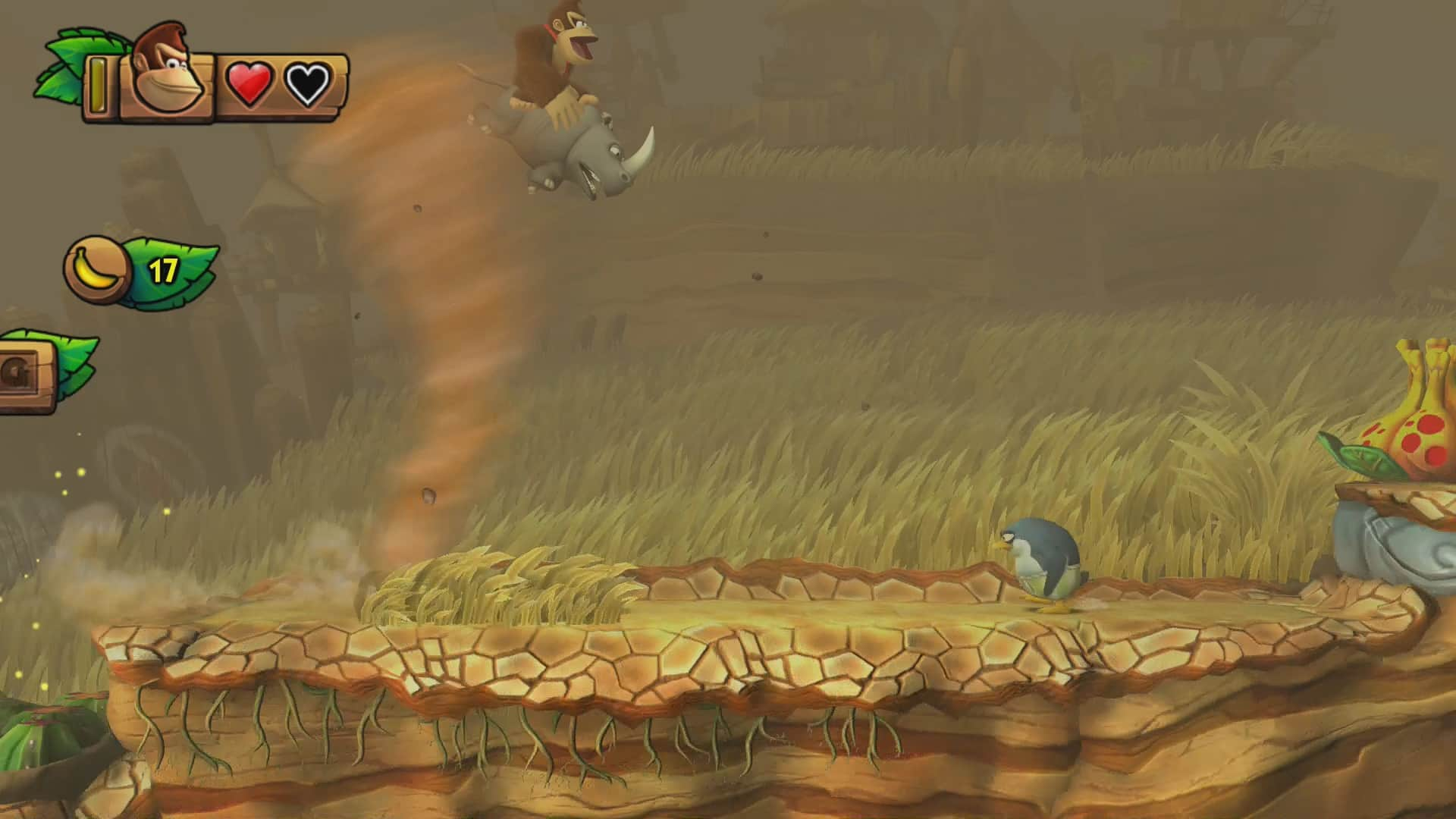 Donkey Kong Country: Tropical Freeze 3-3 Frantic Fields Screenshot