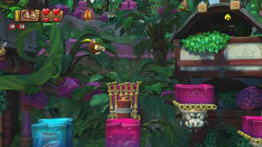 Donkey Kong Country: Tropical Freeze 5-5 Jelly Jamboree Screenshot