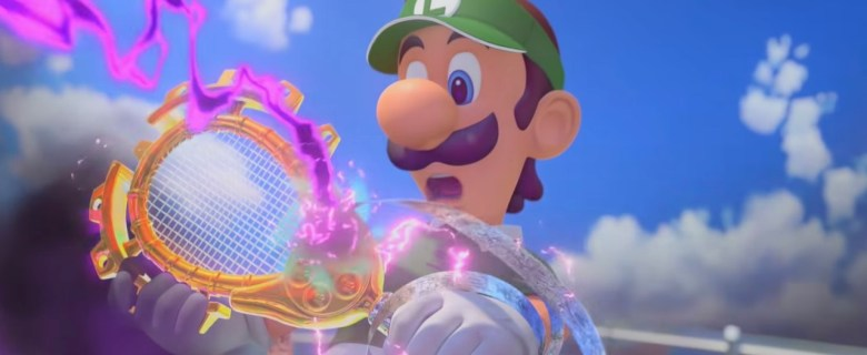Legendary Racket Mario Tennis Aces Screenshot