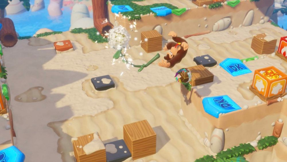 Mario + Rabbids Kingdom Battle: Donkey Kong Adventure Preview Screenshot 2
