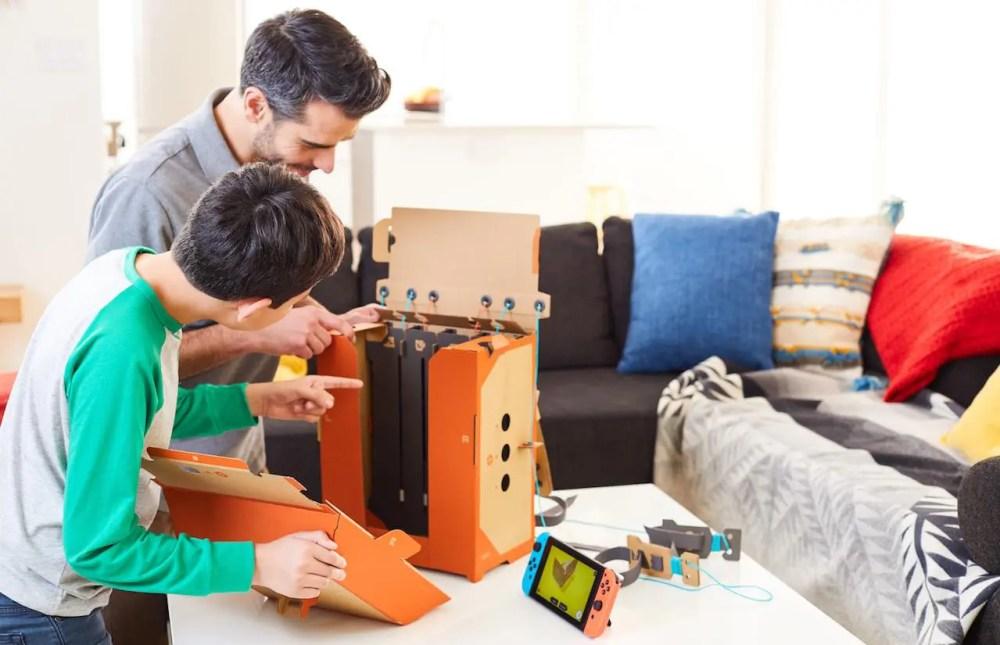 Nintendo Labo Toy-Con 02: Robot Kit Review Screenshot 2