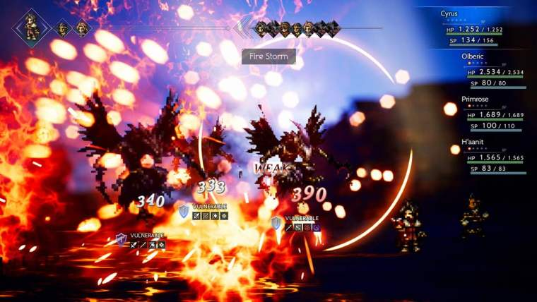 Octopath Traveler Preview Screenshot 2