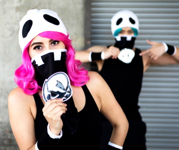 Pokémon Center Team Skull Accessory Kit Lifestyle Photo
