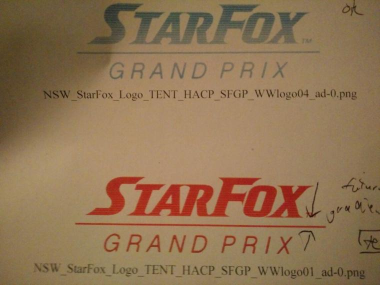 Star Fox: Grand Prix Logo