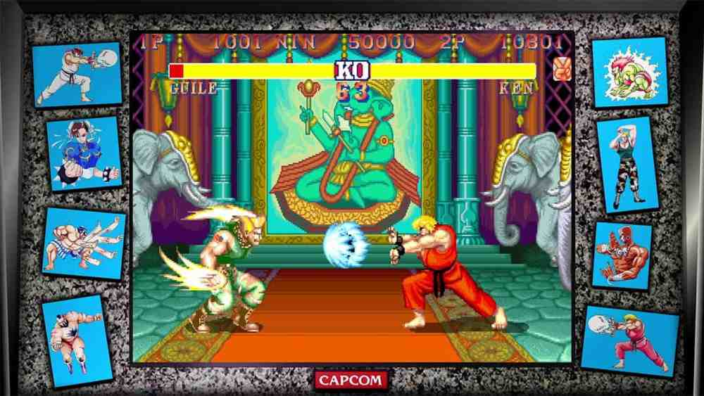 Street Fighter 30th Anniversary Collection Review Screenshot 2