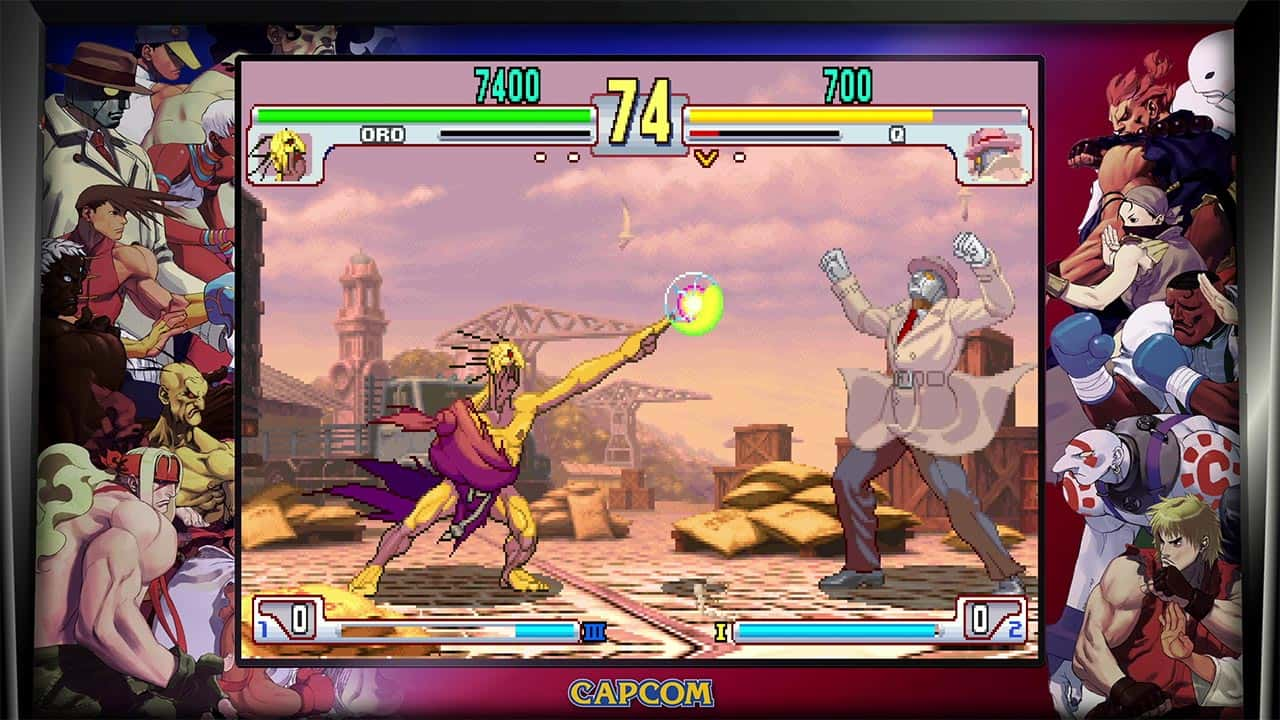 Street Fighter 30th Anniversary Collection Review Screenshot 5