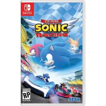 Team Sonic Racing Box Art