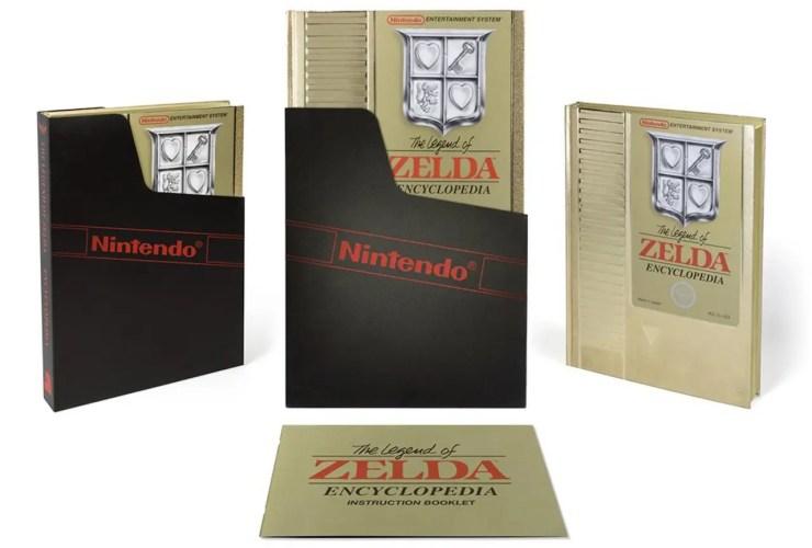 The Legend Of Zelda Encyclopedia Deluxe Edition