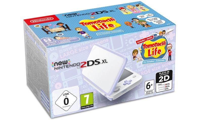 Tomodachi Life New Nintendo 2DS XL Bundle