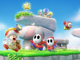 Captain Toad: Treasure Tracker Artwork