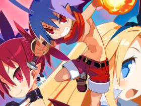 Disgaea 1 Complete Key Artwork