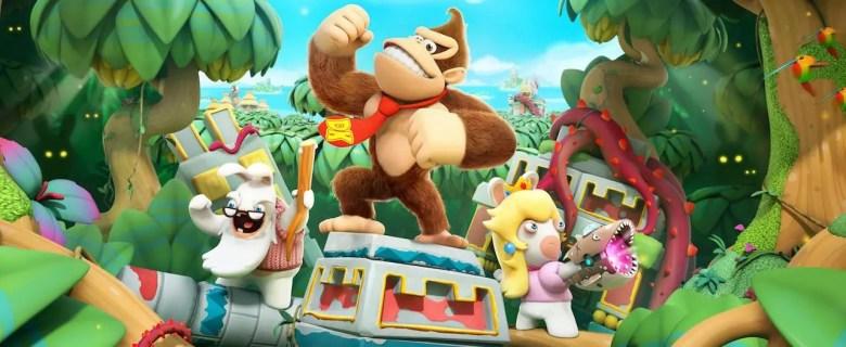 Mario + Rabbids Kingdom Battle: Donkey Kong Adventure Artwork