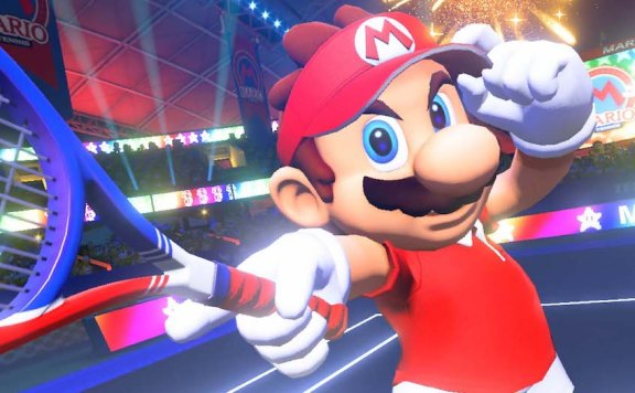 Mario Tennis Aces Classes Screenshot