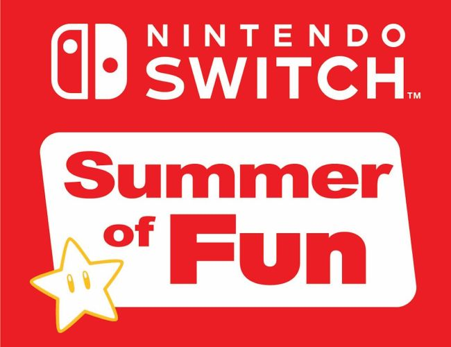 Nintendo Switch Summer Of Fun Logo