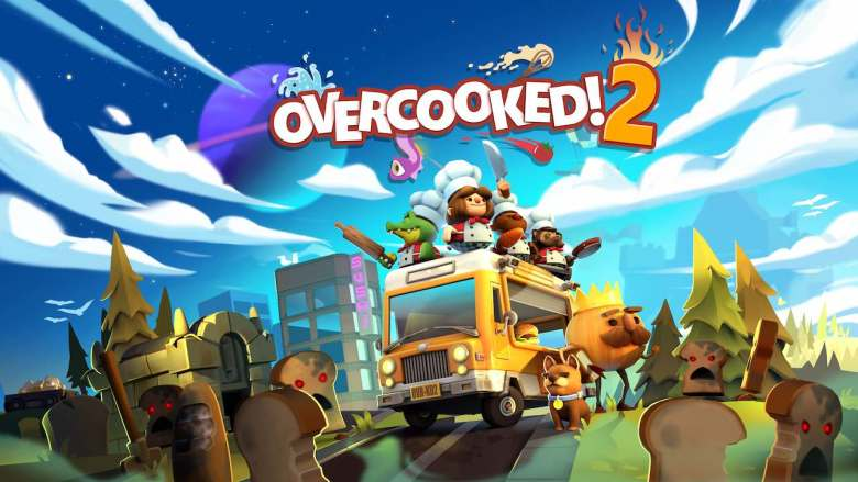 Overcooked 2 Artwork