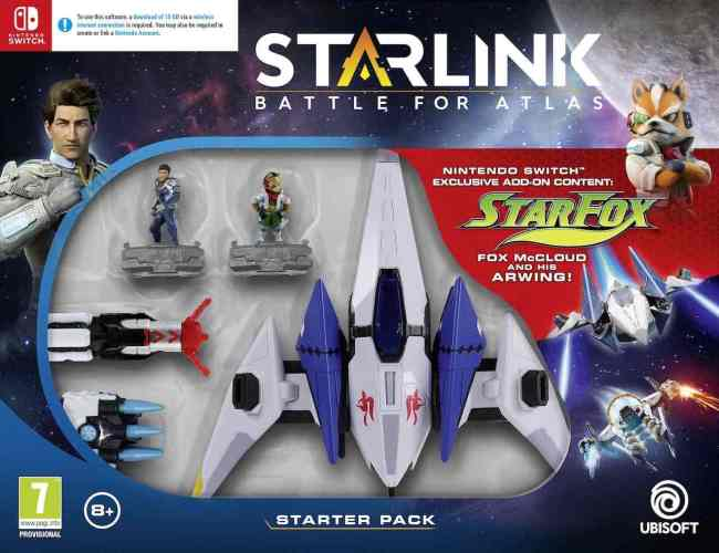 Starlink: Battle For Atlas Starter Pack Box Art