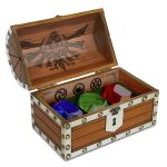 The Legend of Zelda Rupee Chest Paperweight