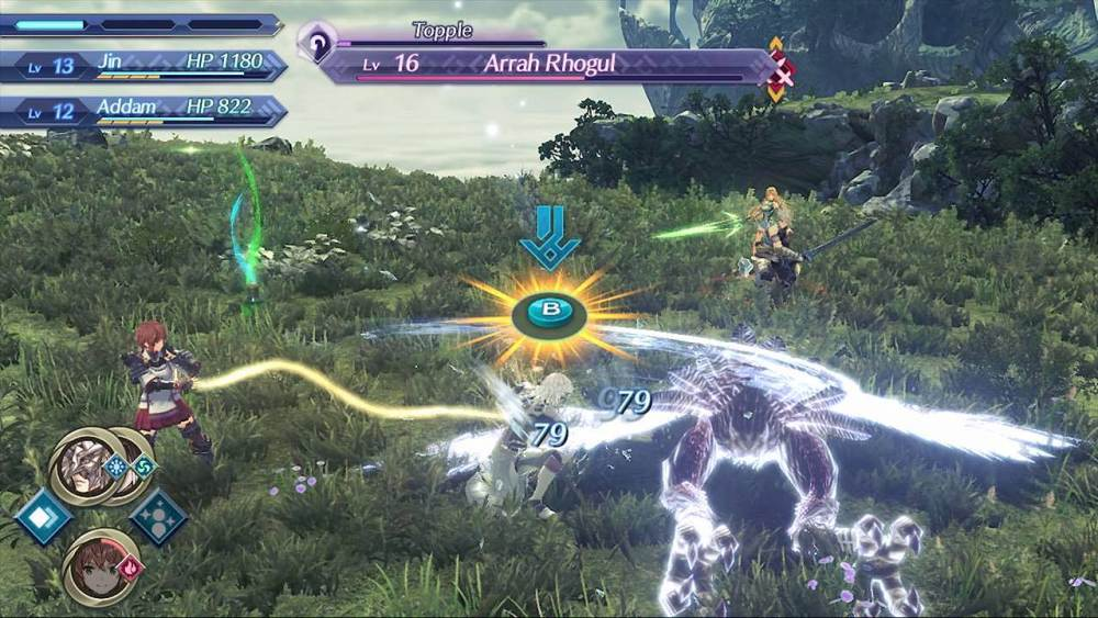 Xenoblade Chronicles 2: Torna - The Golden Country E3 2018 Screenshot 2
