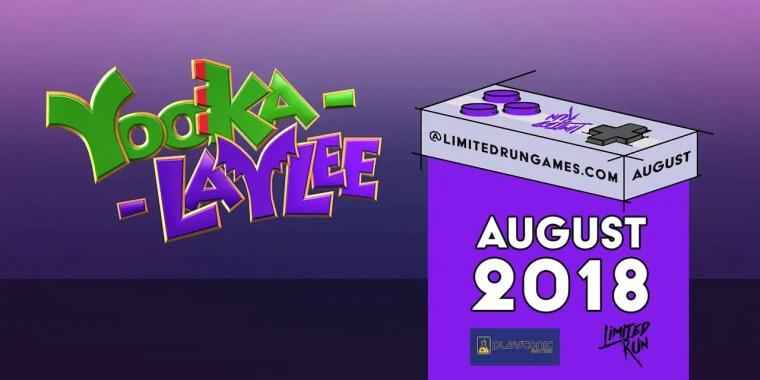 Yooka-Laylee Limited Run Games