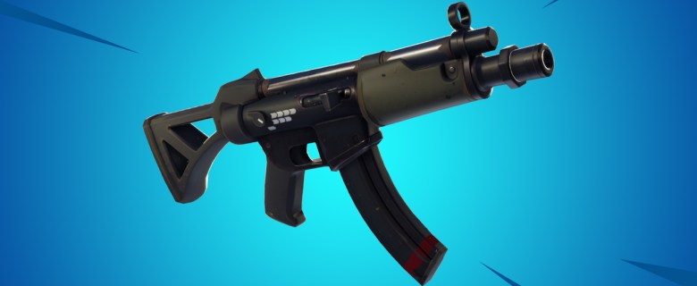 Fortnite Submachine Gun Image
