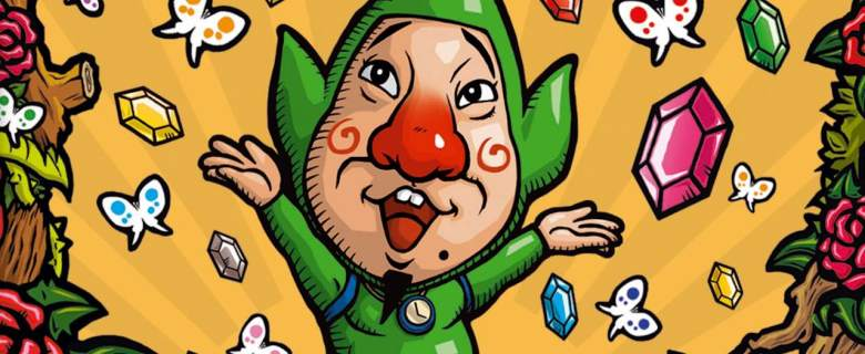 Freshly-Picked Tingle's Rosy Rupeeland Artwork