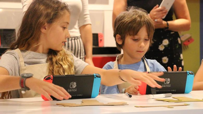 KidZania London Nintendo Labo Workshop Photo