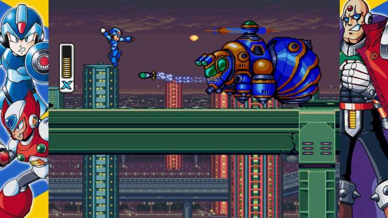 Mega Man X Legacy Collection Review Screenshot 1