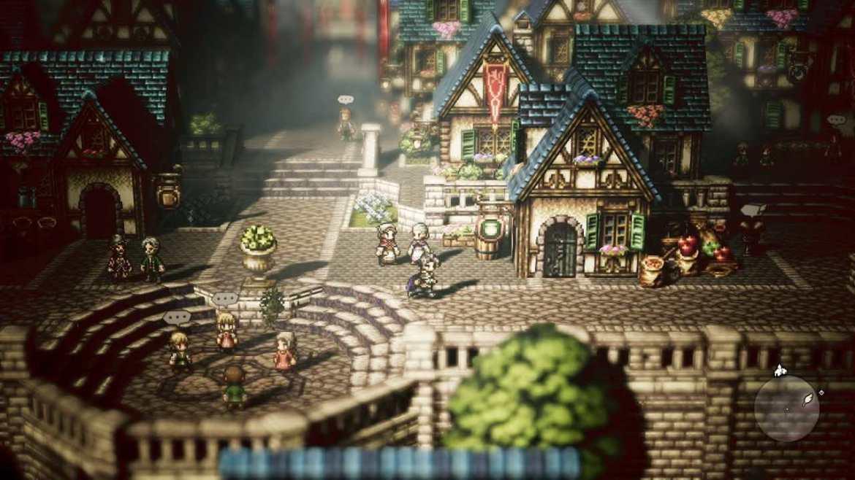 Octopath Traveler Review Screenshot 1