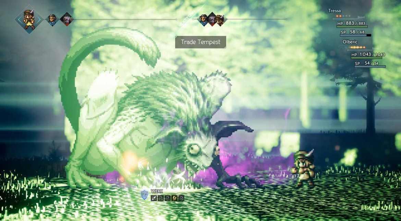 Octopath Traveler Review Screenshot 3