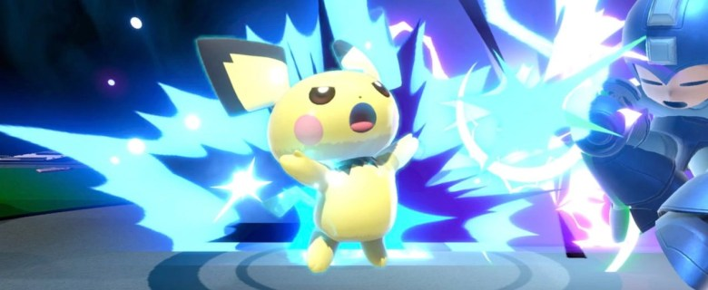 Pichu Super Smash Bros. Ultimate Screenshot
