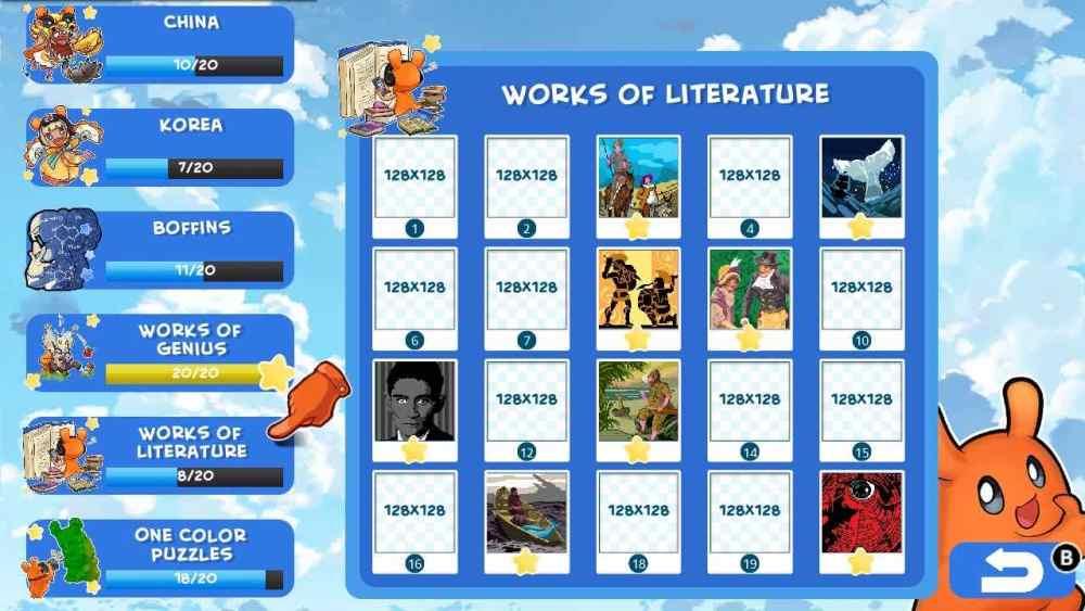Piczle Lines DX 500 More Puzzles Review Screenshot 1
