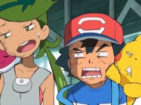 Pokémon Anime Embarrassed Screenshot