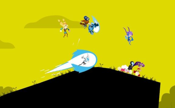 Runbow Review Switch Header