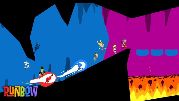 Runbow Review Switch Screenshot 1