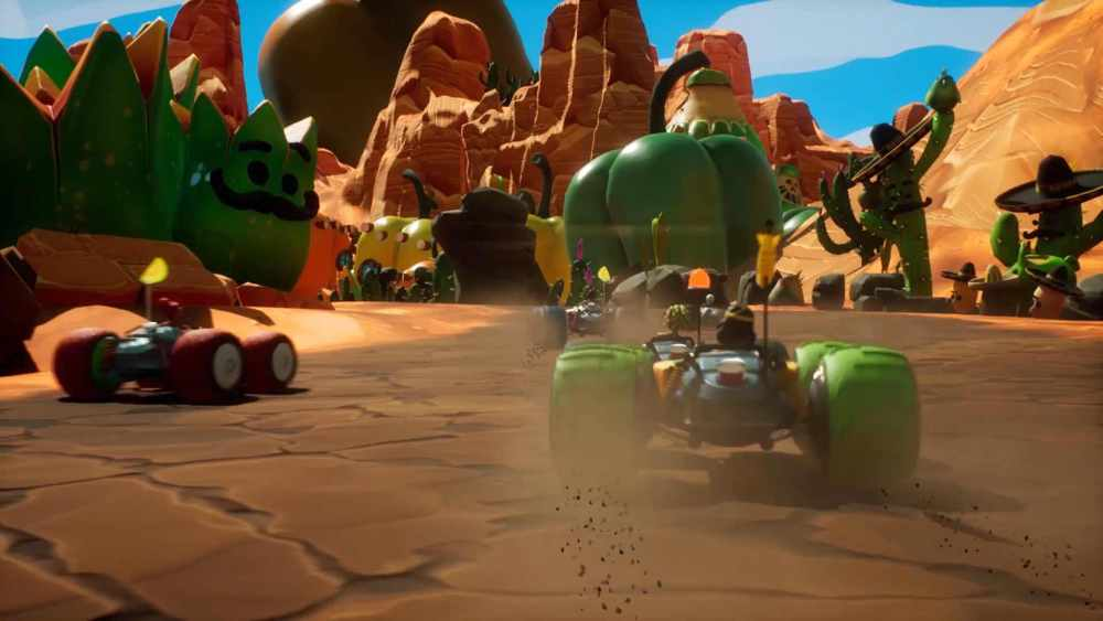 All-Star Fruit Racing Review Screenshot 1