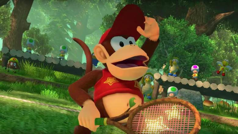 Diddy Kong Mario Tennis Aces Screenshot