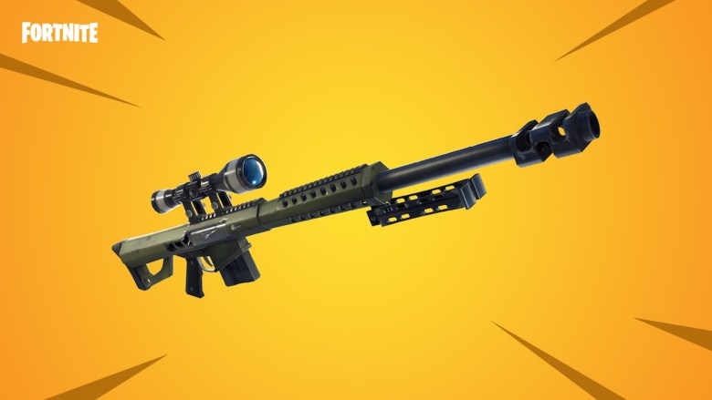 Fortnite Heavy Sniper Rifle Artwork