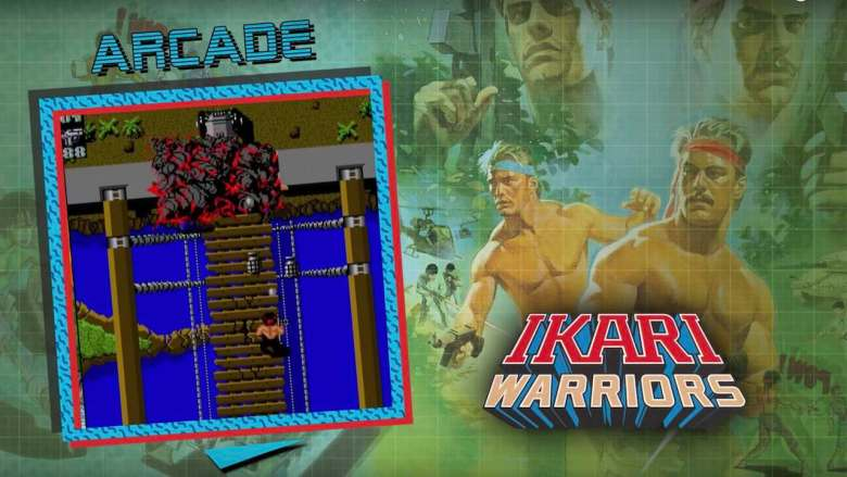 Ikari Warriors SNK 40th Anniversary Collection Screenshot