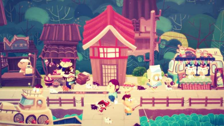 Mineko's Night Market Screenshot