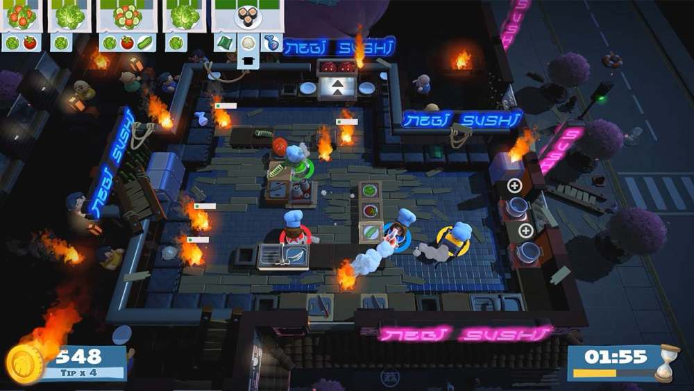 Overcooked 2 Review Screenshot 1