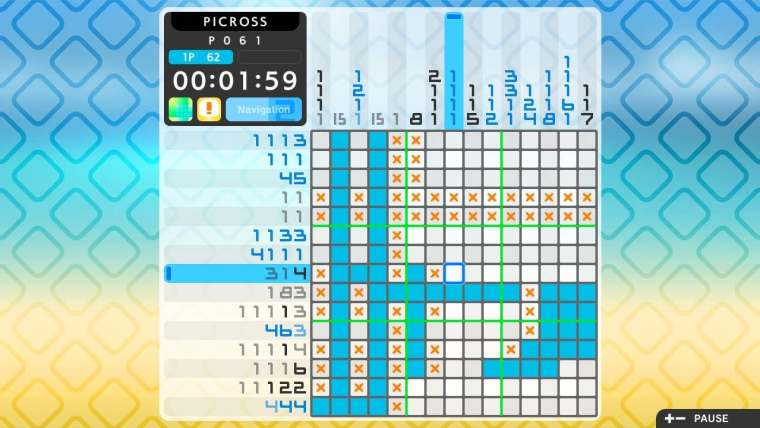 Picross S2 Review Screenshot 1