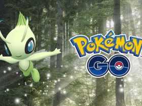 Pokémon GO Celebi Artwork