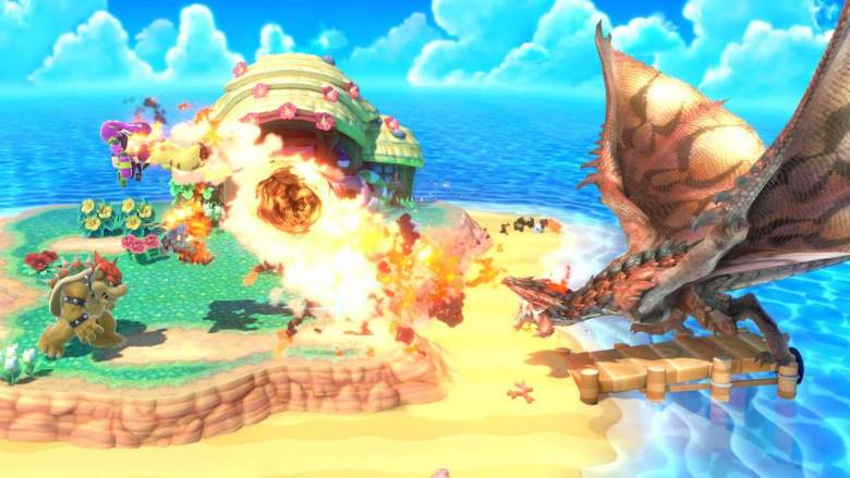 Rathalos Super Smash Bros. Ultimate Screenshot