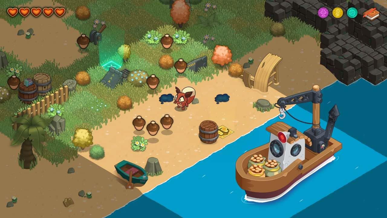 Retrieve Your Golden Nut In Red's Kingdom On Nintendo Switch Next